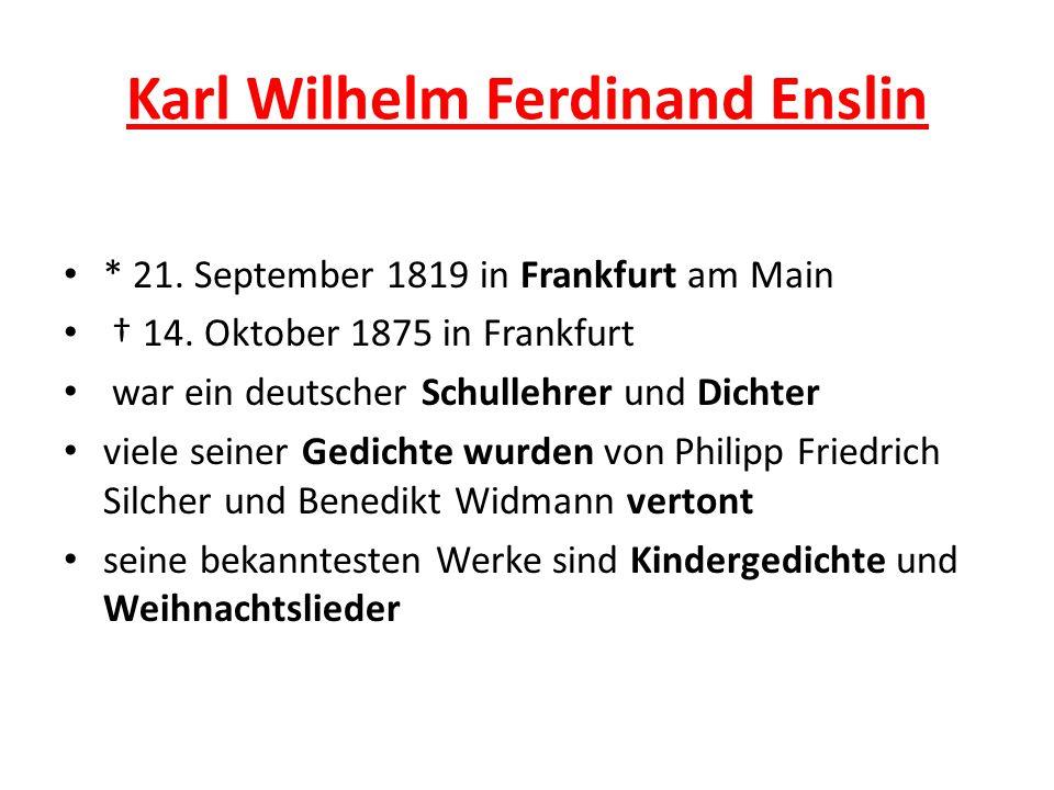 Karl Wilhelm Ferdinand Enslin