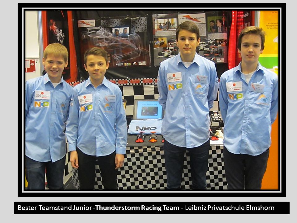 Bester Teamstand Junior -Thunderstorm Racing Team - Leibniz Privatschule Elmshorn