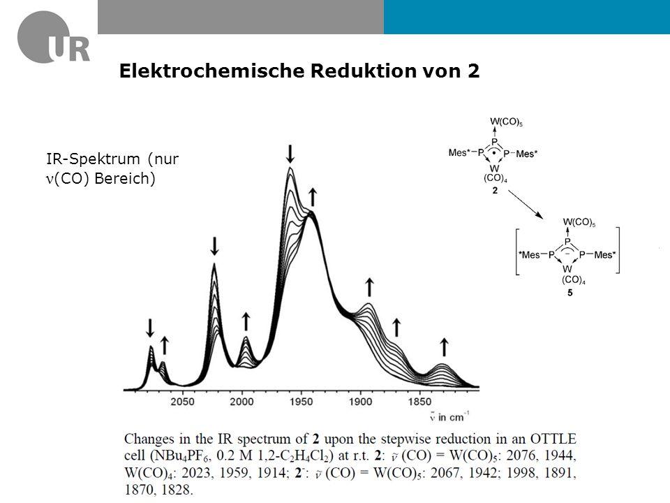 Elektrochemische Reduktion von 2
