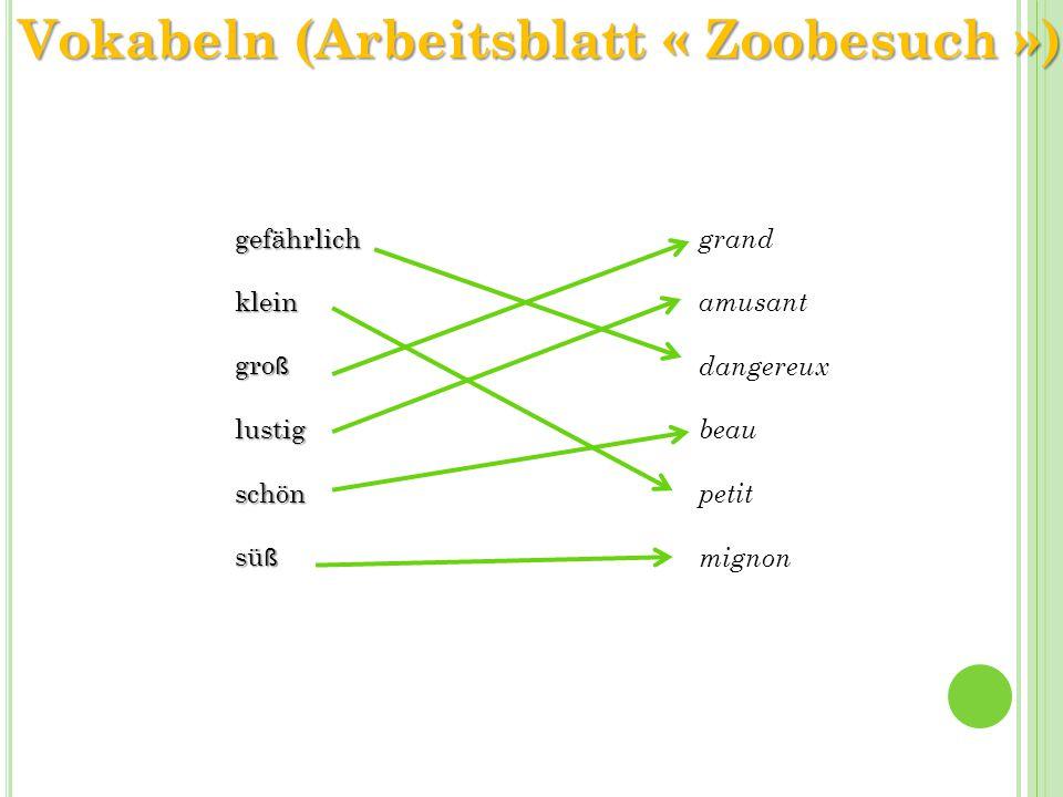 Fein Lieber Zoo Arbeitsblatt Zeitgenössisch - Super Lehrer ...