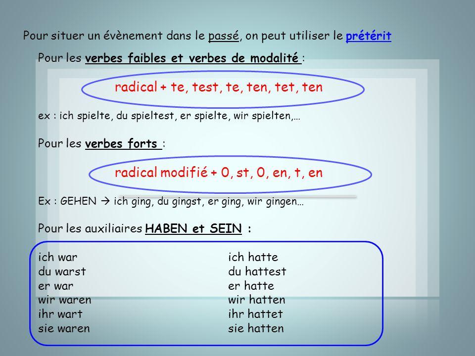 radical + te, test, te, ten, tet, ten