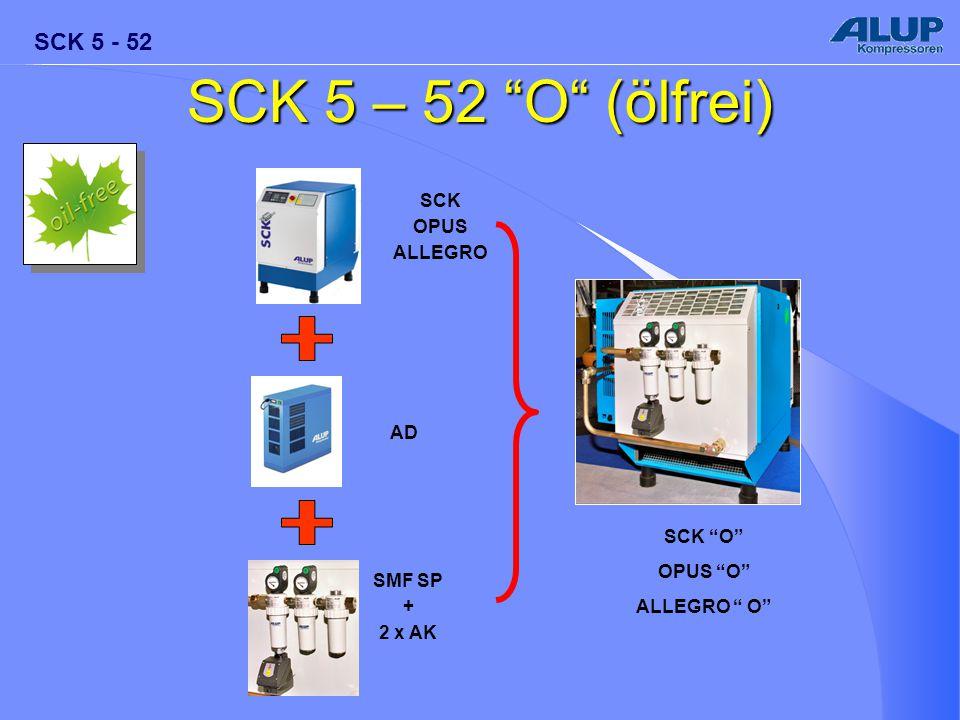 SCK 5 – 52 O (ölfrei) SCK OPUS ALLEGRO AD SCK O OPUS O