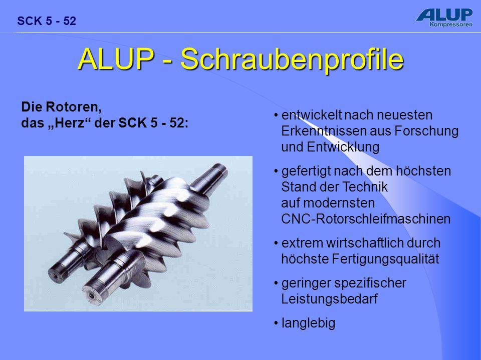 ALUP - Schraubenprofile
