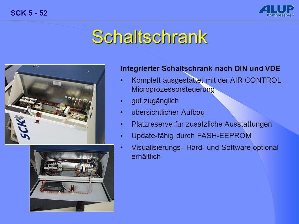 Schaltschrank Integrierter Schaltschrank nach DIN und VDE