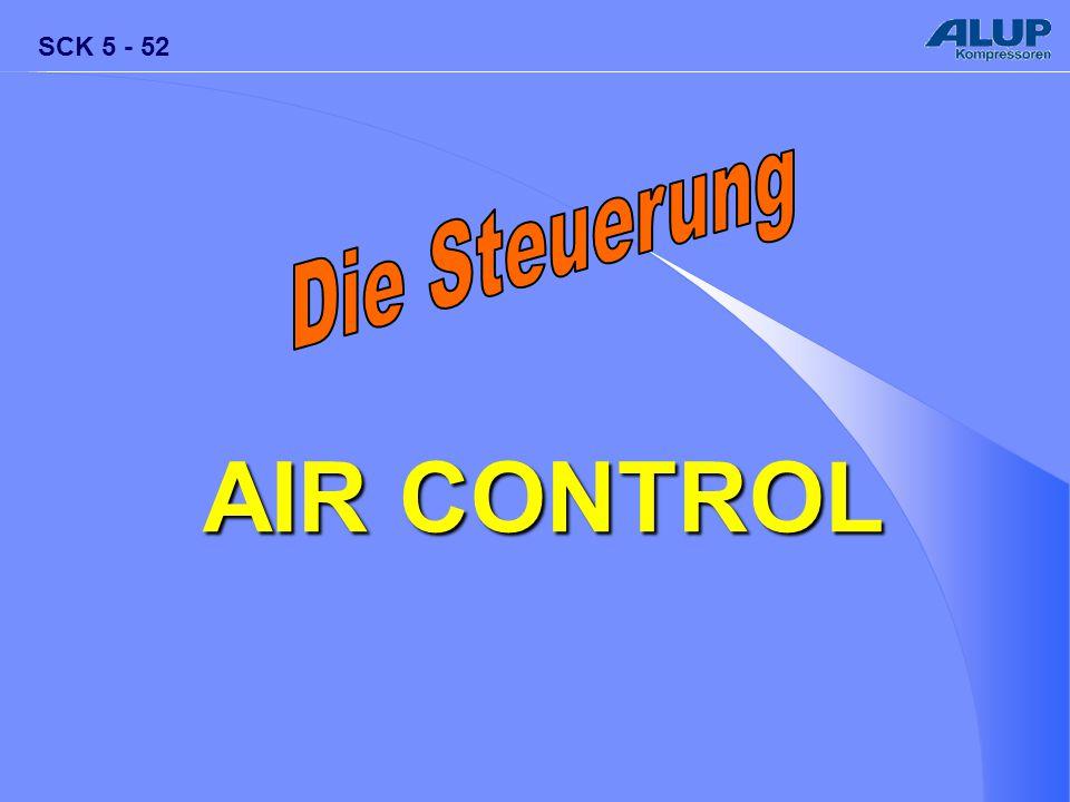 Die Steuerung AIR CONTROL