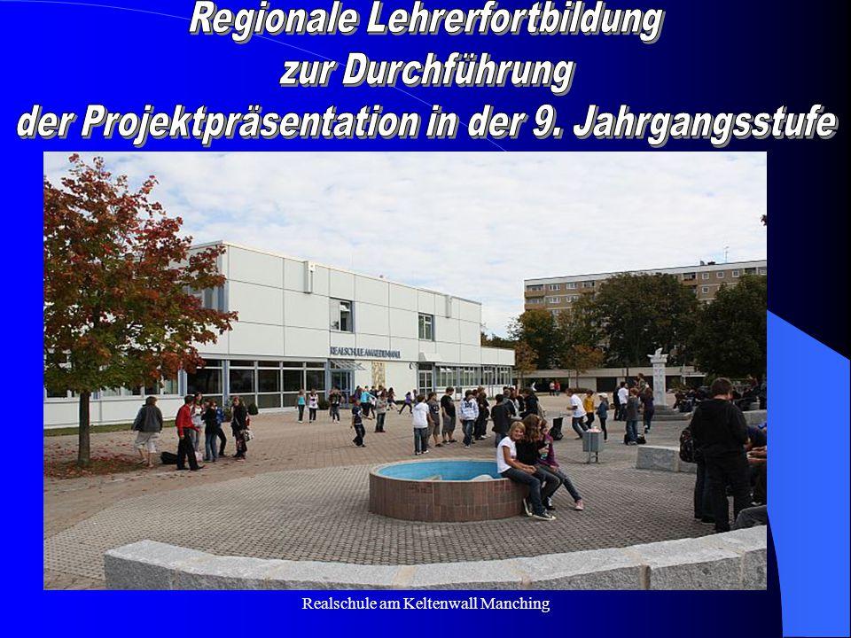 Regionale Lehrerfortbildung zur Durchführung