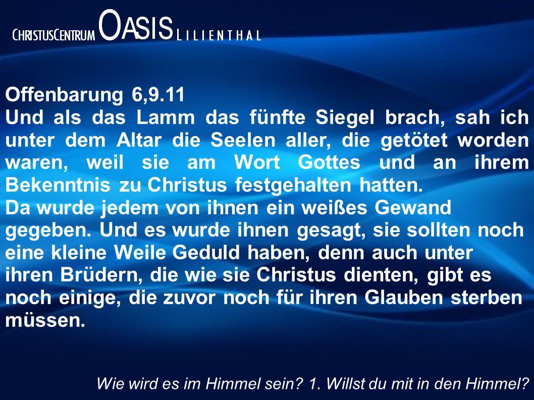Offenbarung 6,9.11