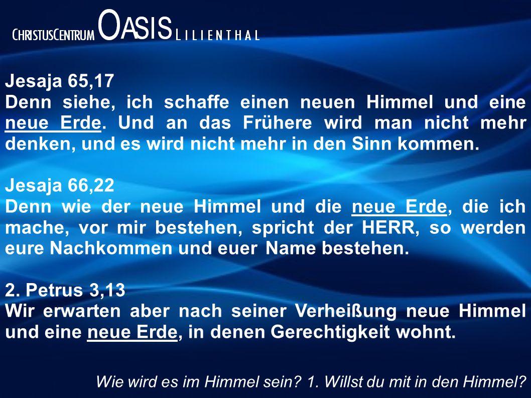 Jesaja 65,17