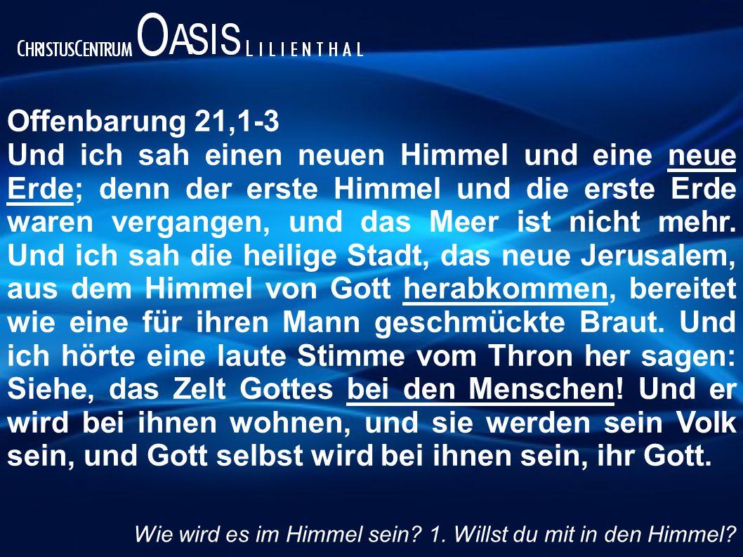 Offenbarung 21,1-3