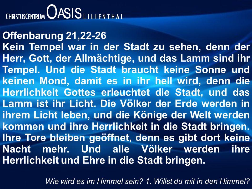 Offenbarung 21,22-26