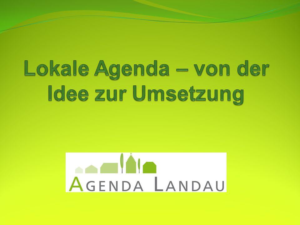 Lokale Agenda – von der Idee zur Umsetzung
