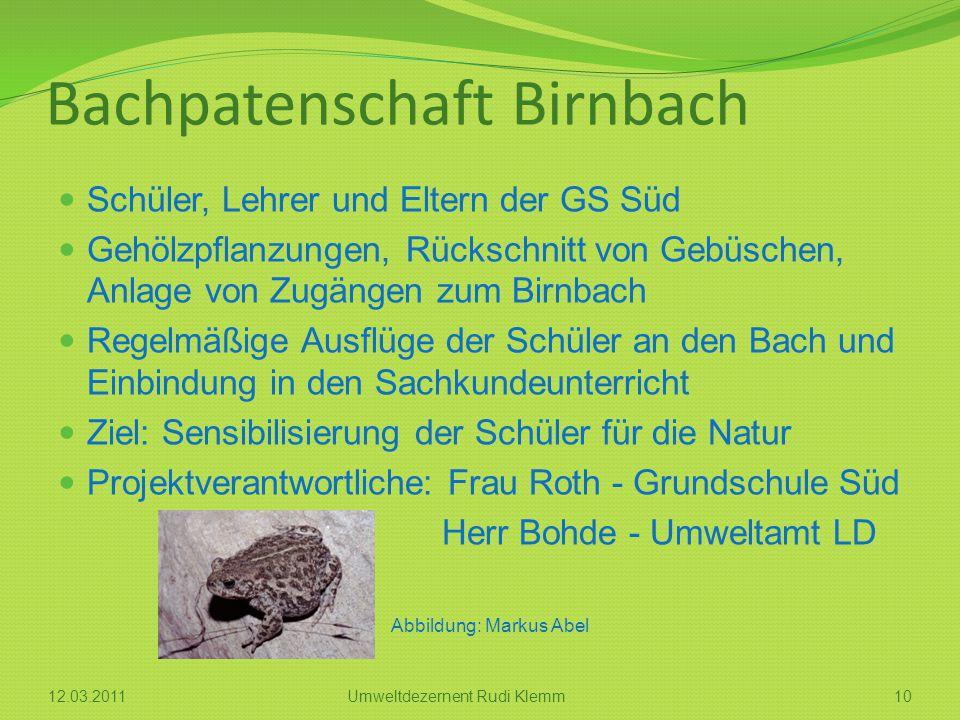 Bachpatenschaft Birnbach