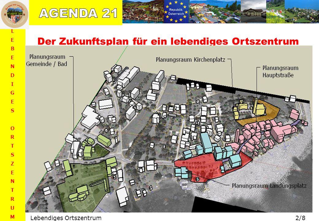 AGENDA 21 Der Zukunftsplan für ein lebendiges Ortszentrum