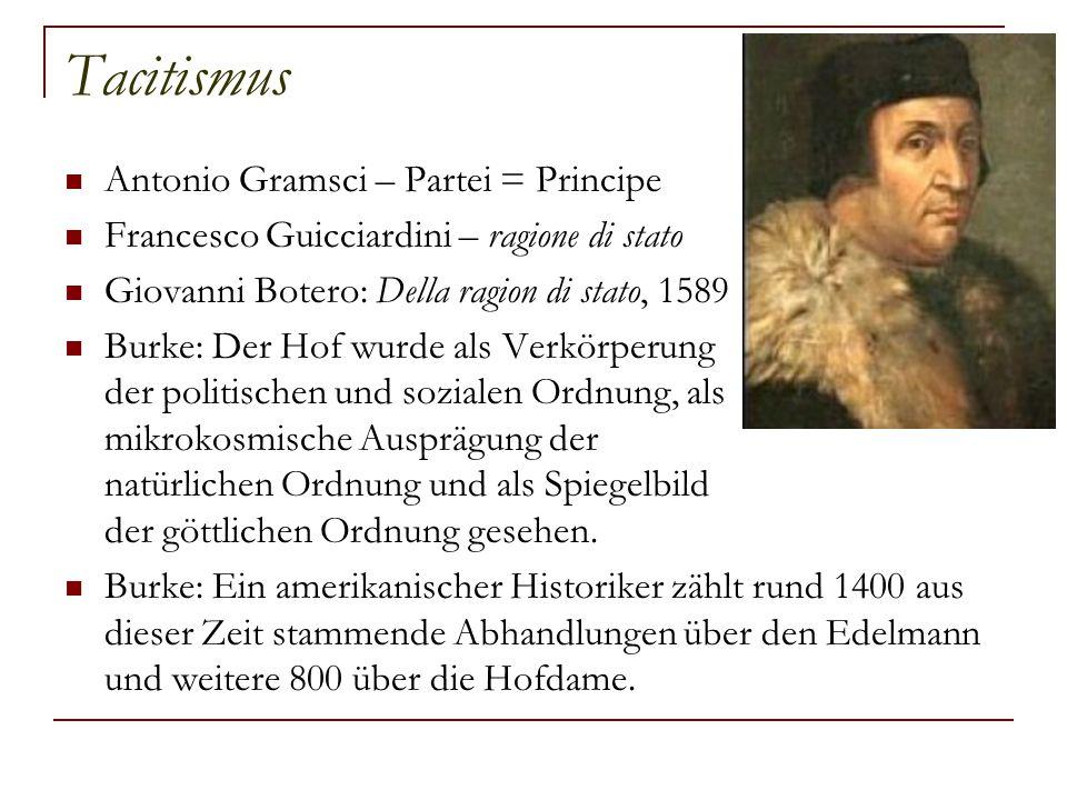 Tacitismus Antonio Gramsci – Partei = Principe