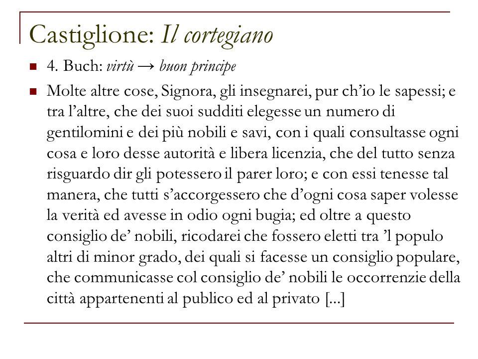 Castiglione: Il cortegiano