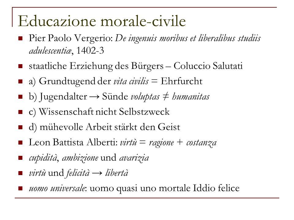 Educazione morale-civile