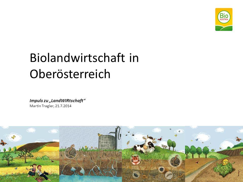 """Biolandwirtschaft in Oberösterreich Impuls zu """"LandWIRtschaft Martin Tragler, 21.7.2014"""