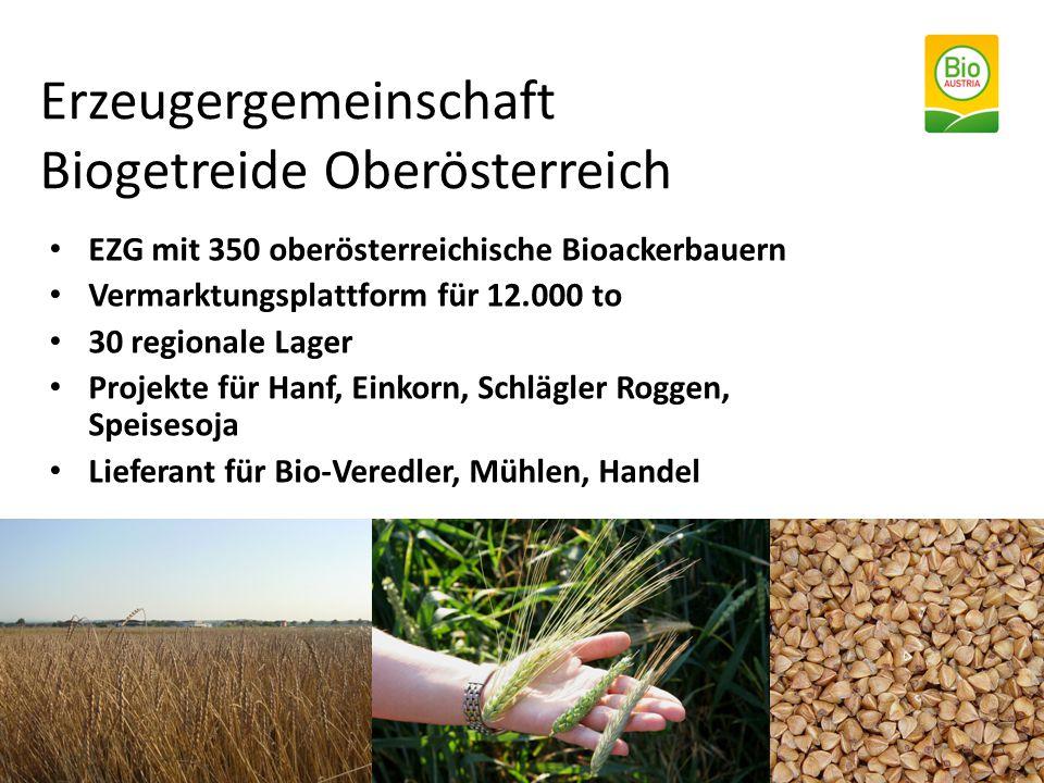Erzeugergemeinschaft Biogetreide Oberösterreich