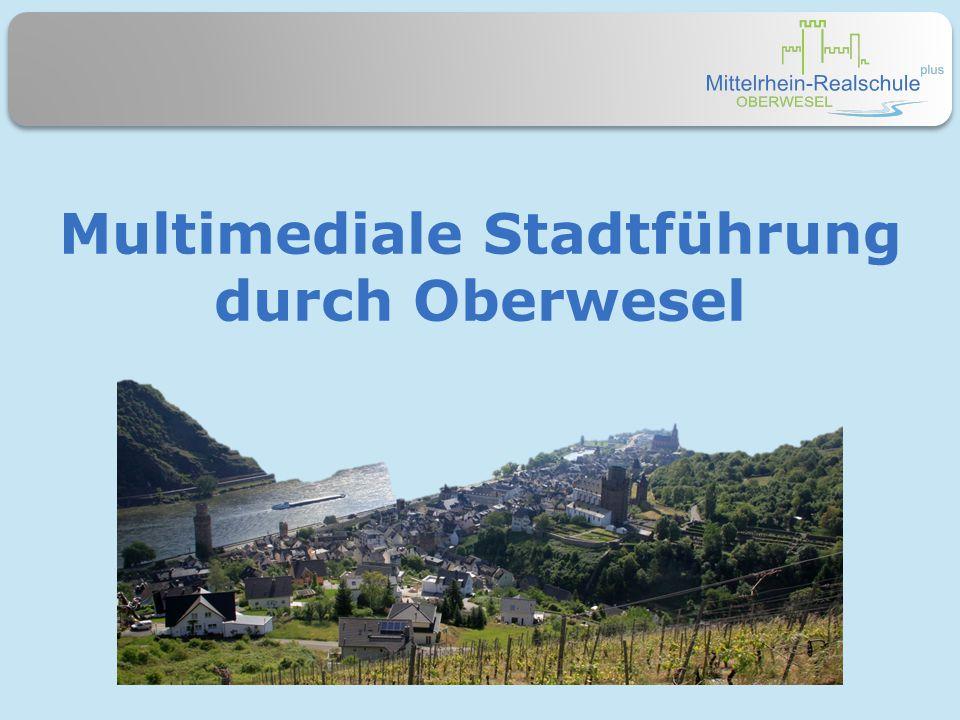 Multimediale Stadtführung durch Oberwesel
