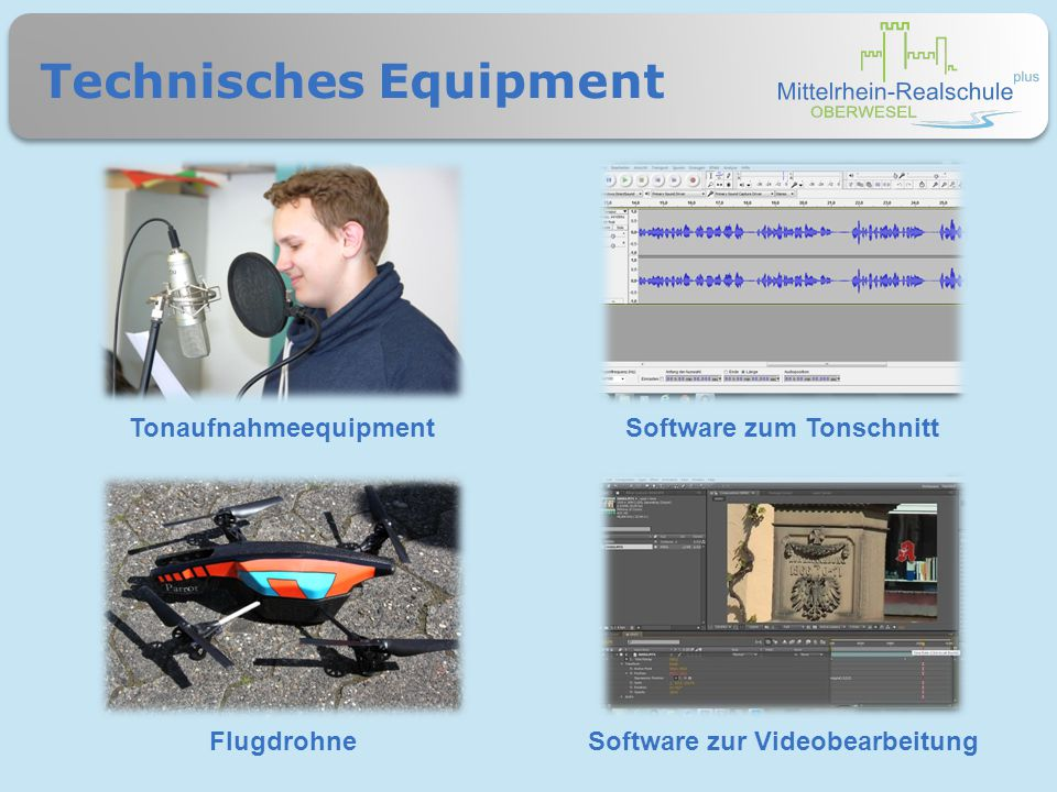 Technisches Equipment