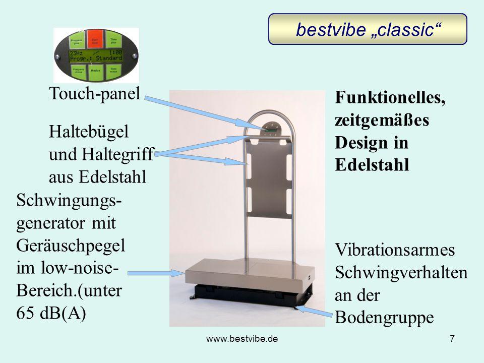 Funktionelles, zeitgemäßes Design in Edelstahl