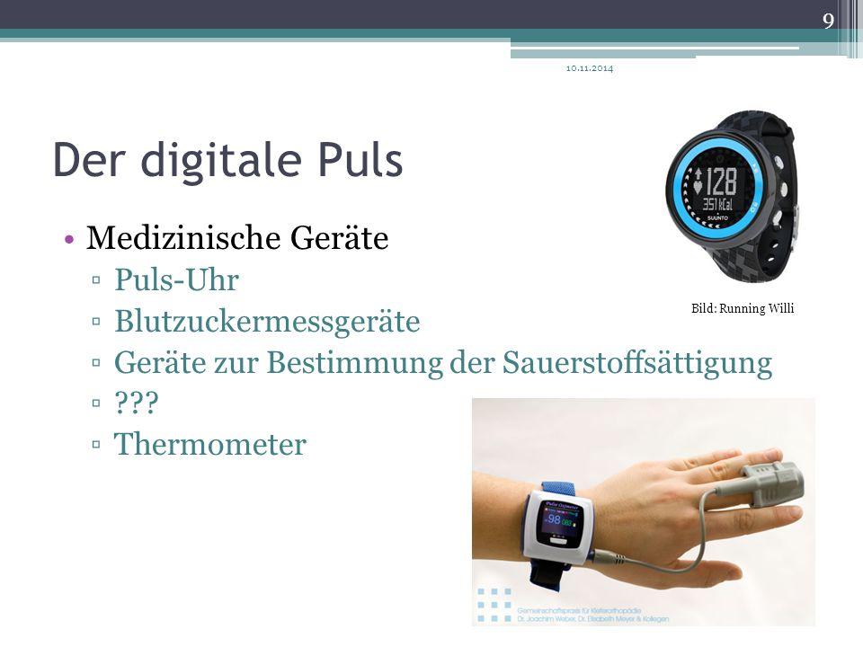 Der digitale Puls Medizinische Geräte Puls-Uhr Blutzuckermessgeräte