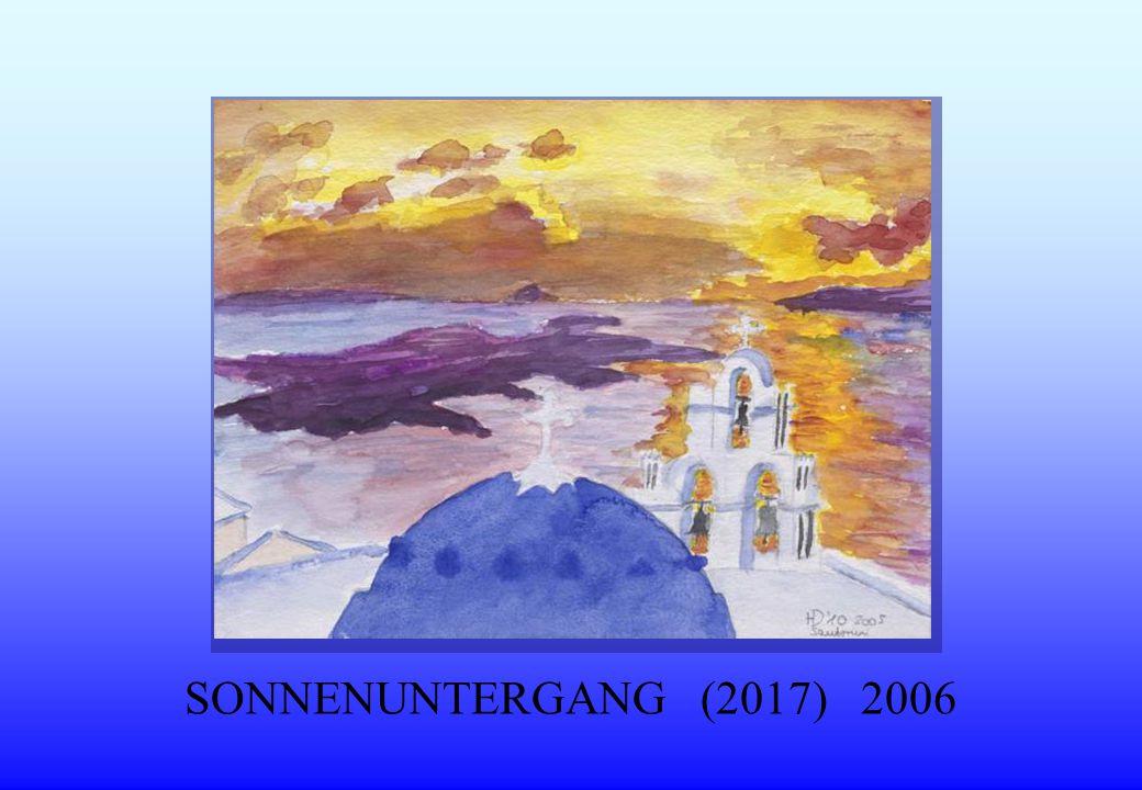 SONNENUNTERGANG (2017) 2006