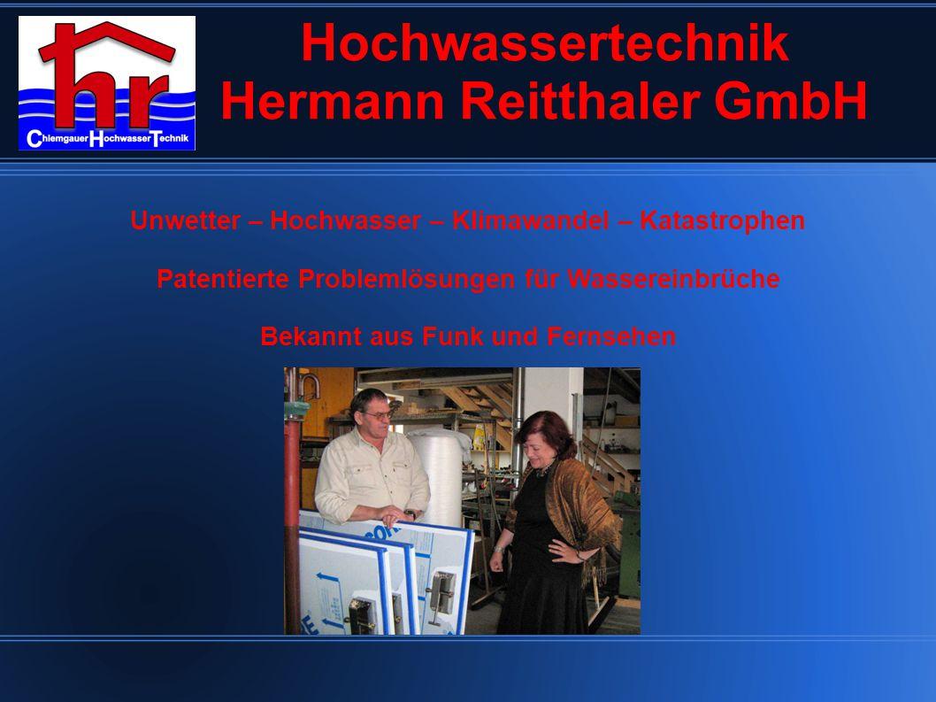 Hochwassertechnik Hermann Reitthaler GmbH