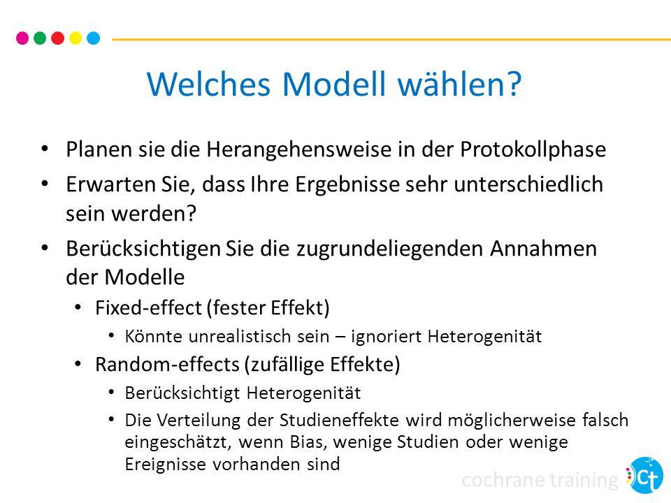 Welches Modell wählen Planen sie die Herangehensweise in der Protokollphase. Erwarten Sie, dass Ihre Ergebnisse sehr unterschiedlich sein werden