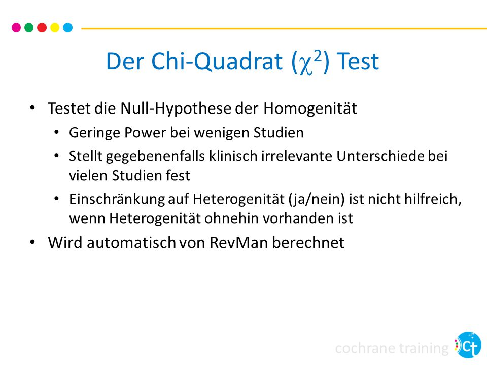 Der Chi-Quadrat (c2) Test