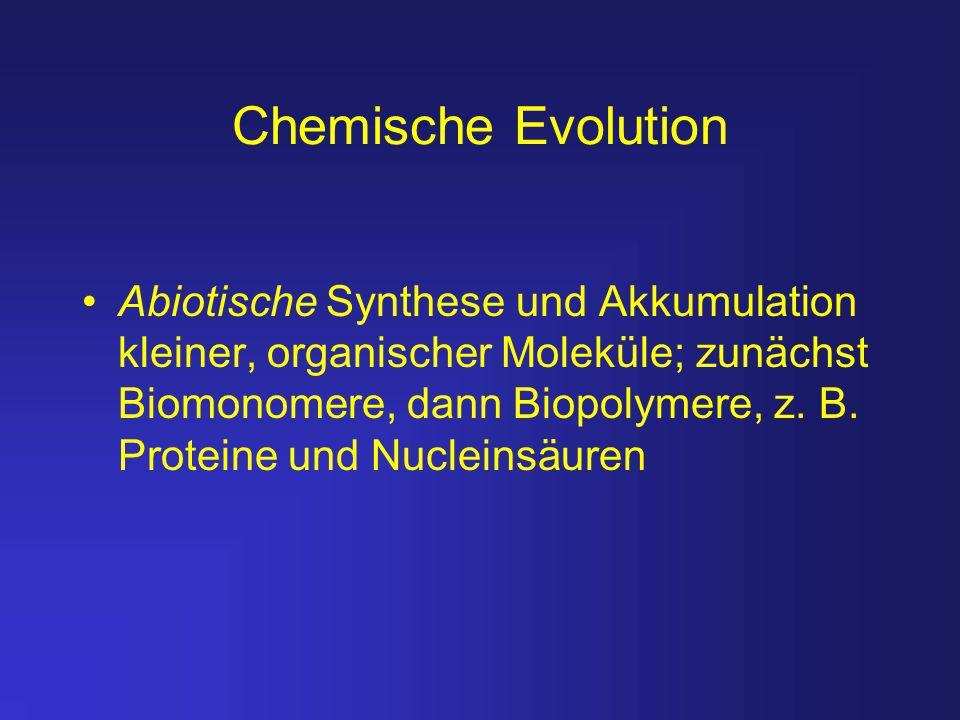 Chemische Evolution