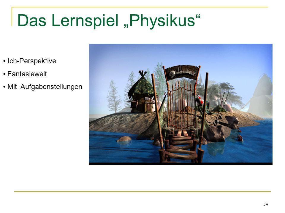 """Das Lernspiel """"Physikus"""