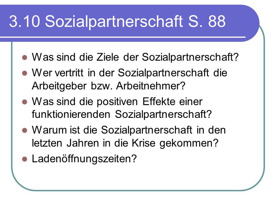 3.10 Sozialpartnerschaft S. 88