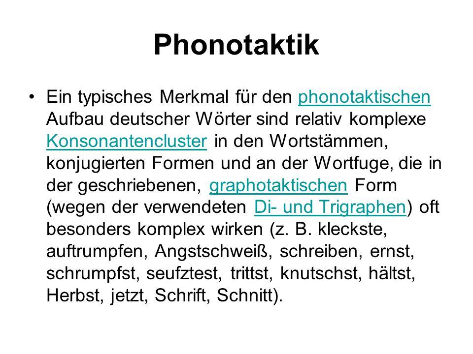 Phonotaktik