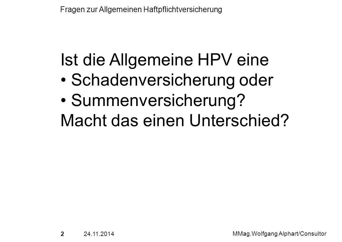 Ist die Allgemeine HPV eine