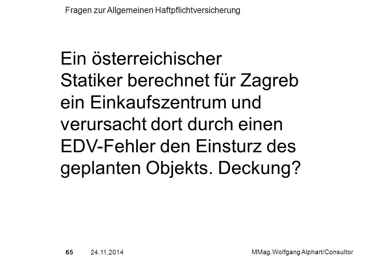 Ein österreichischer Statiker berechnet für Zagreb