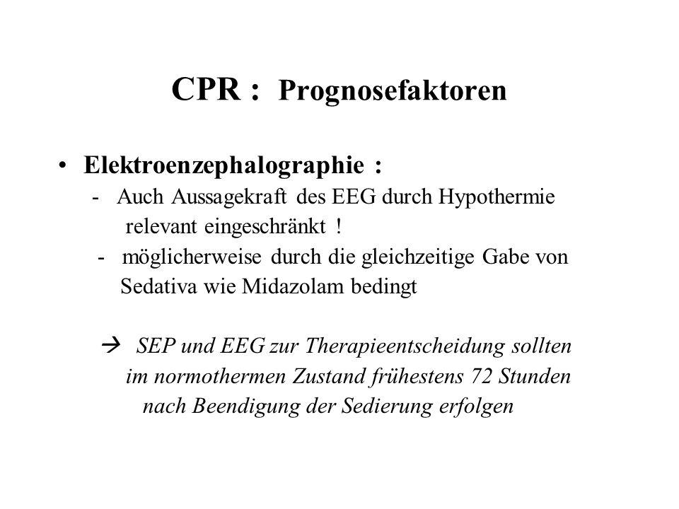 CPR : Prognosefaktoren
