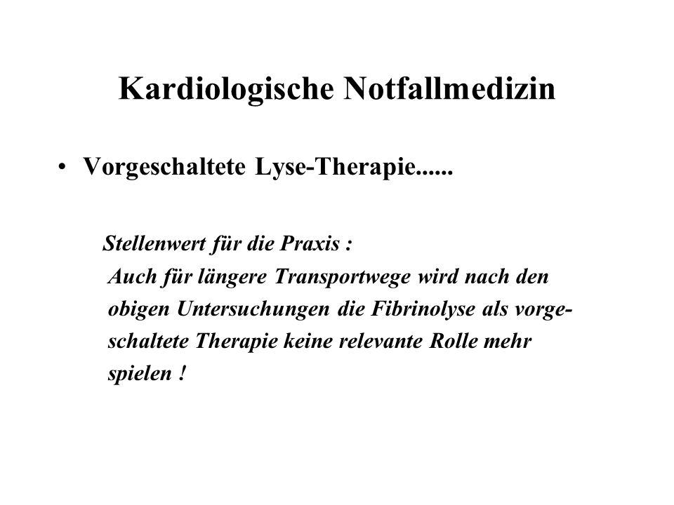 Kardiologische Notfallmedizin
