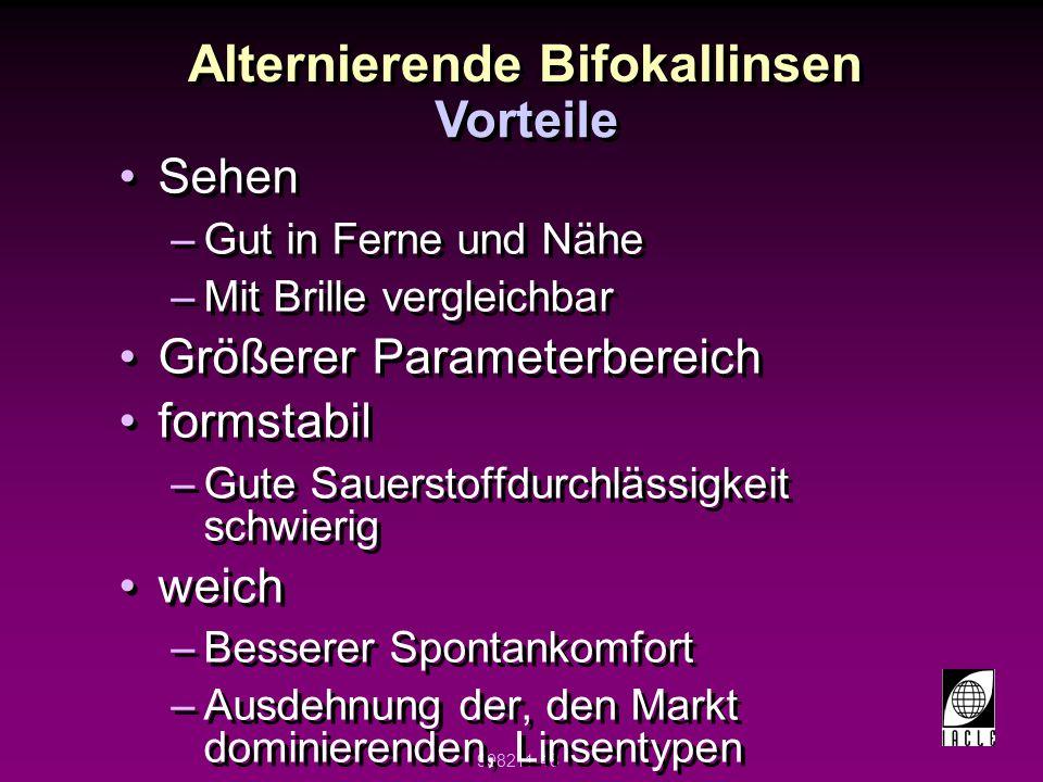 Alternierende Bifokallinsen