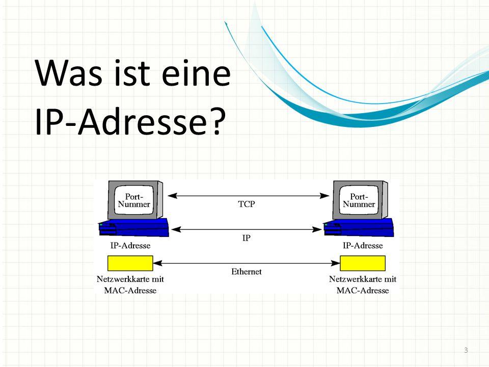 Was ist eine IP-Adresse