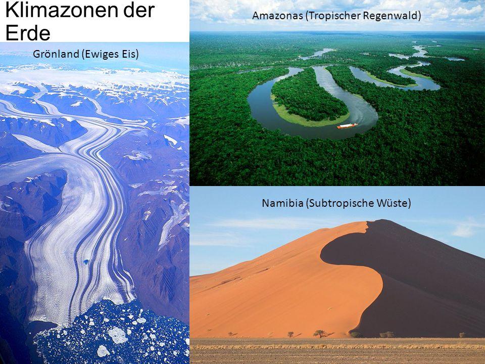 Klimazonen der Erde Amazonas (Tropischer Regenwald)