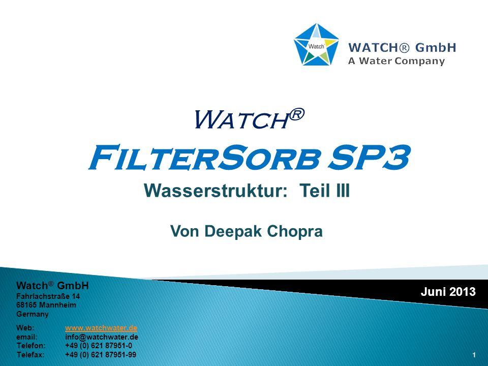 WATCH® GmbH A Water Company