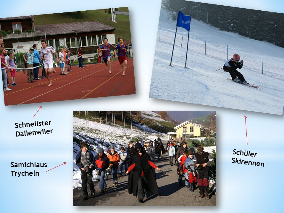 Schnellster Dallenwiler Schüler Skirennen Samichlaus Trycheln