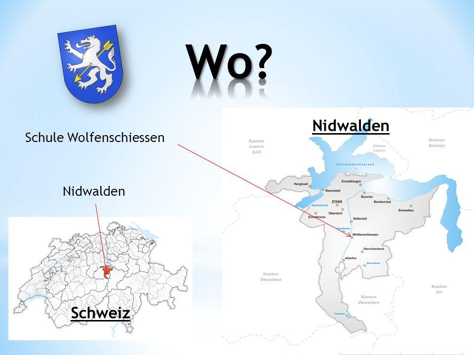Wo Nidwalden Schule Wolfenschiessen Nidwalden Schweiz