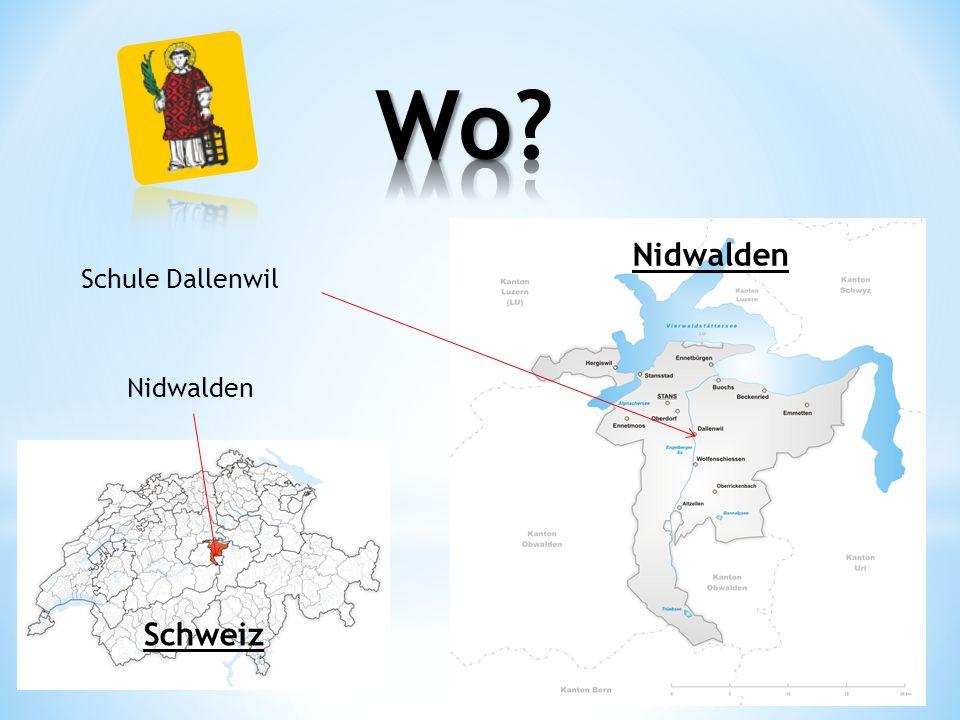 Wo Nidwalden Schule Dallenwil Nidwalden Schweiz