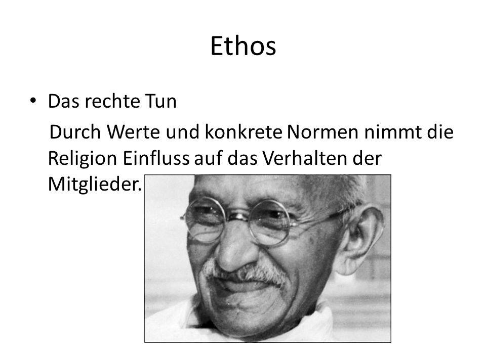 Ethos Das rechte Tun.