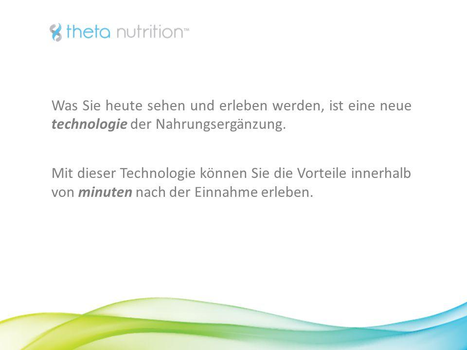 2 Was Sie heute sehen und erleben werden, ist eine neue technologie der Nahrungsergänzung.