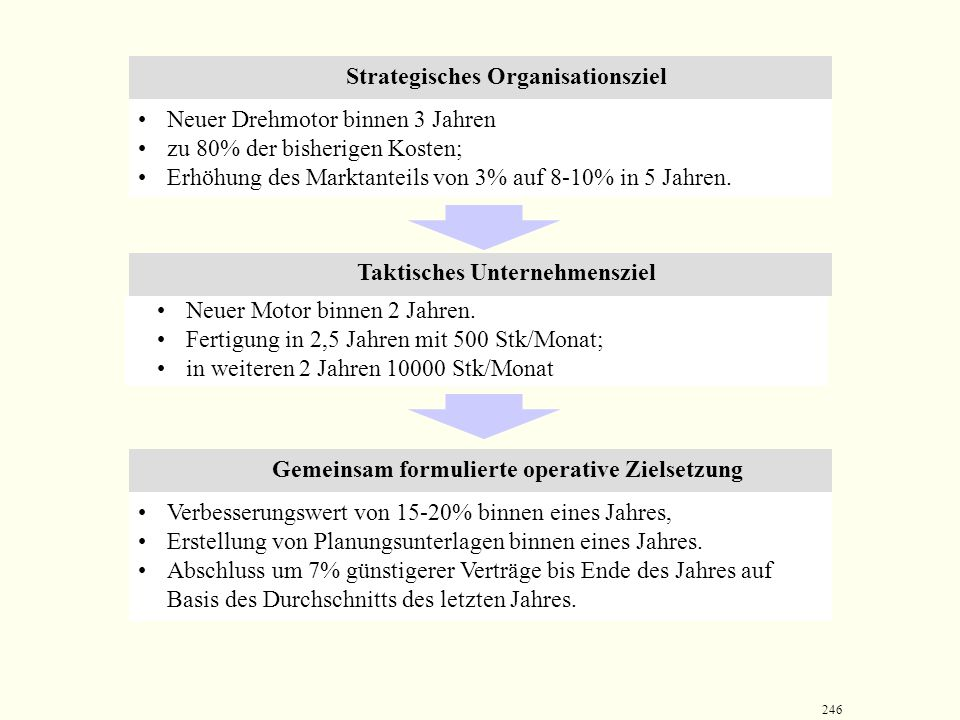 Strategisches Organisationsziel