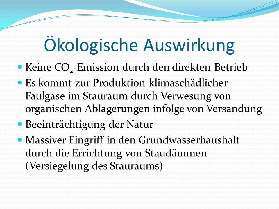 Ökologische Auswirkung