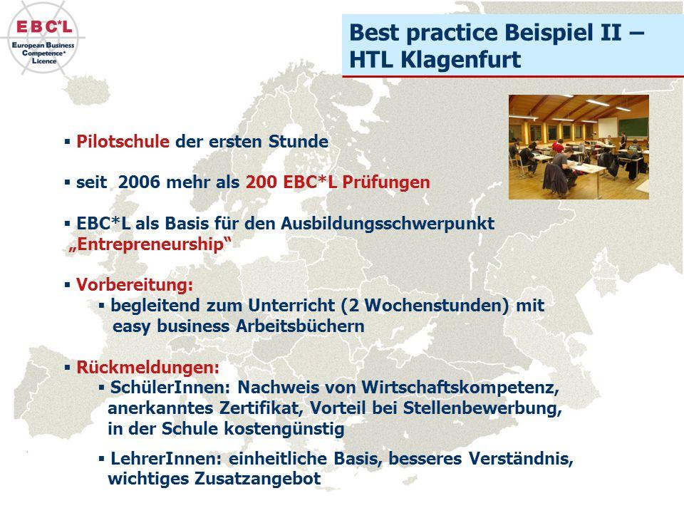 Best practice Beispiel II – HTL Klagenfurt
